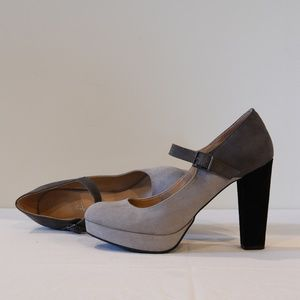 Candies Shades of Grey Mary Jane Pumps